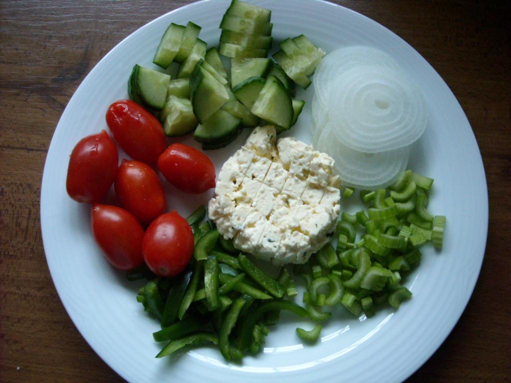 Marinated Vegetable Salad | The Biscuit Barrel